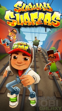 Игра Subway Surfers для Samsung Galaxy Note S3 Ace2 Gio и Tab