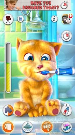 Talking Ginger - рыжий говорящий кот для Андроид