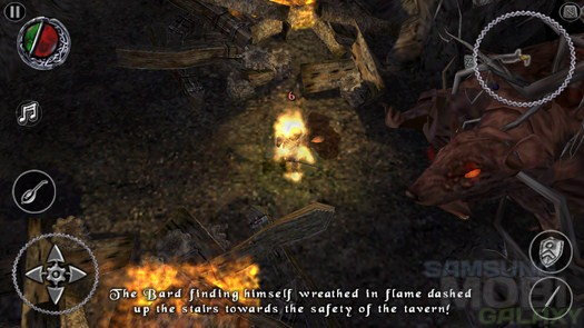 """Ролевая игра """"The Bard's Tale"""" для Android"""