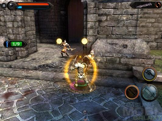 Игра Wild Blood для Android, сражение