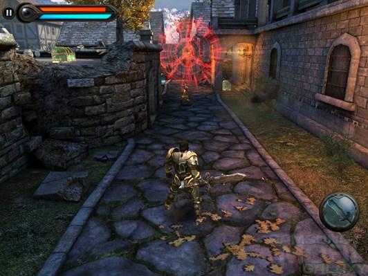 Игра Wild Blood для Андроид - деревня