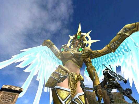 Игра Wild Blood для Android, злой босс-ангел
