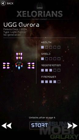 Игра Xelorians для Samsung Galaxy S3 Note Ace2