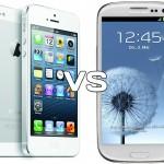 Тест падения iPhone 5 против Samsung Galaxy S3