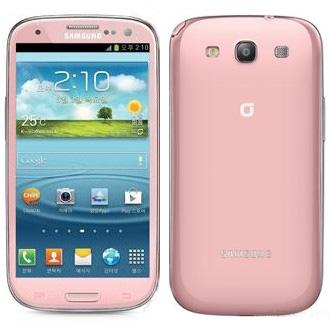 Pink Galaxy S III - розовый Галакси С3