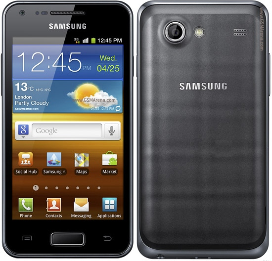 Внешний вид Samsung I9070 Galaxy S Advance