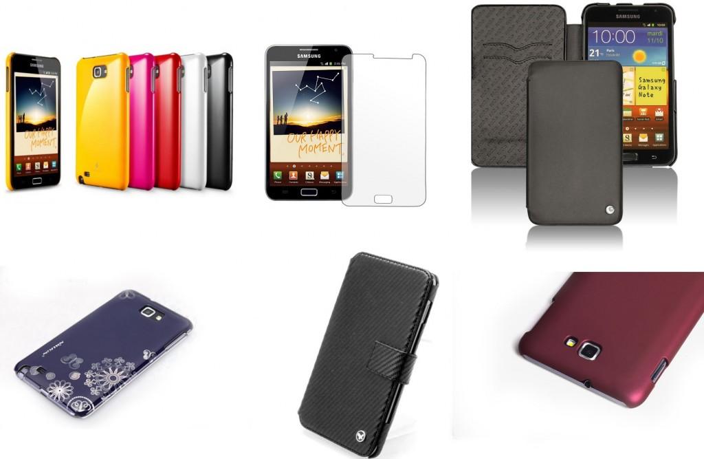 Чехлы, кейсы (case), накладки и бамперы для Samsung Galaxy Note N7000