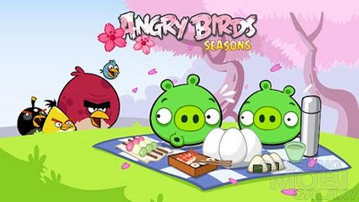 Angry Birds Seasons: Cherry Blossom Festival – фестивальное беспокойство для Android