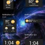 BeWeather - анимированная погода для Android