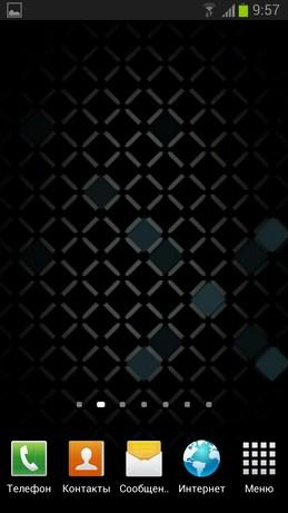 Cell Grid - живые обои с сеткой для Samsung Galaxy