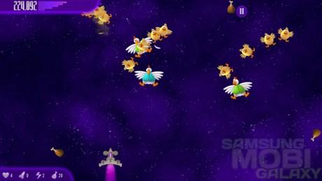 Игра Chicken Invaders 4 для Samsung Galaxy