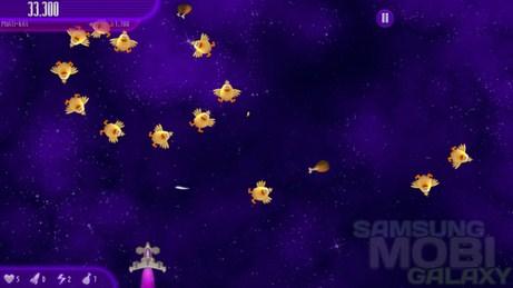Игра Chicken Invaders 4 для Samsung Galaxy Tab