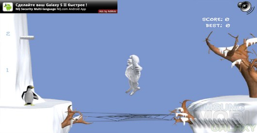 Cliff Climb – прыжок ети для Android