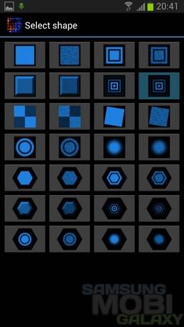 Интерактивные обои Digital Embers для Samsung Galaxy