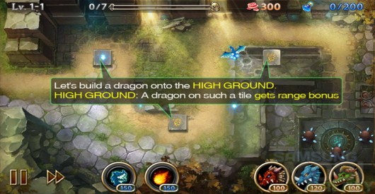 Lair Defense: Dungeon – подземелье драконов для Android