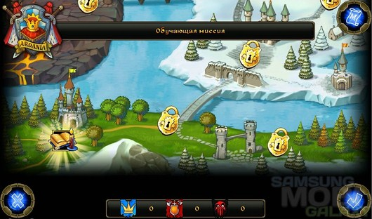Majesty: Завоевание Севера – лихие северные ветры для Android