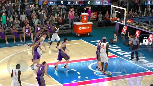 NBA 2K13 - лучший баскетбол для Андроид