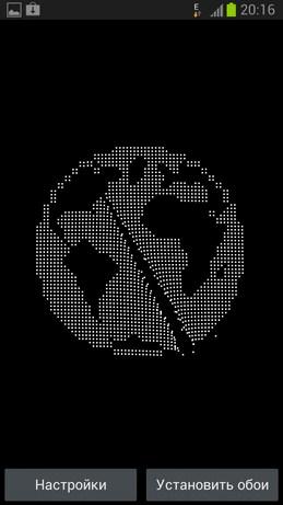 Node Live Wallpaper - анимированные обои