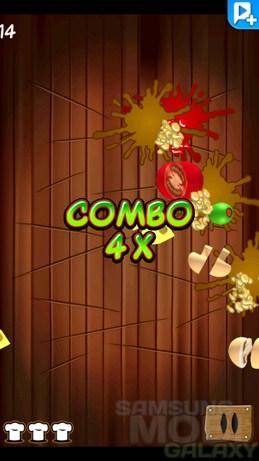 Игра Pizza Ninja - нарезка пиццы для Android