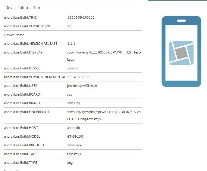 Смартфон Samsung GT-B9150