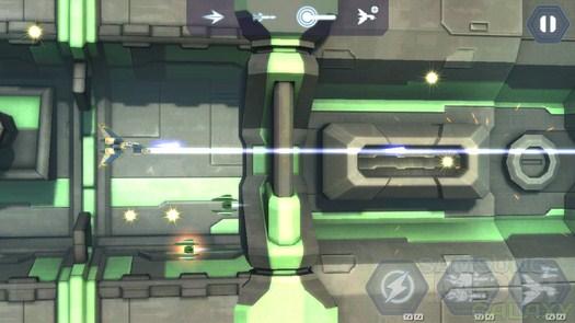Sector Strike - отличный скролл шутер для Android