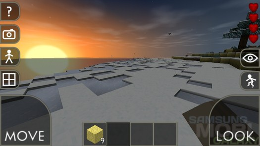 Игра Survivalcraft для Samsung Galaxy - клон майнкрафта