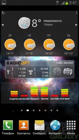 Weather Eye Pro - виджеты погоды для Galaxy Note 2 S3 Ace 2 Tab Gio