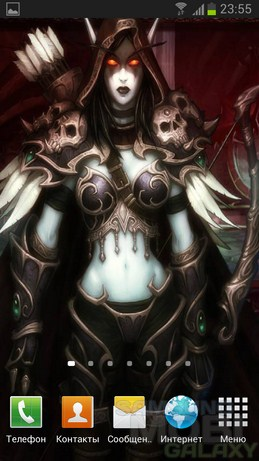 Живые обои World of Warcraft Backgrounds