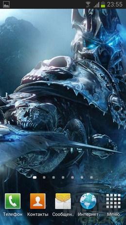 Живые обои World of Warcraft Backgrounds