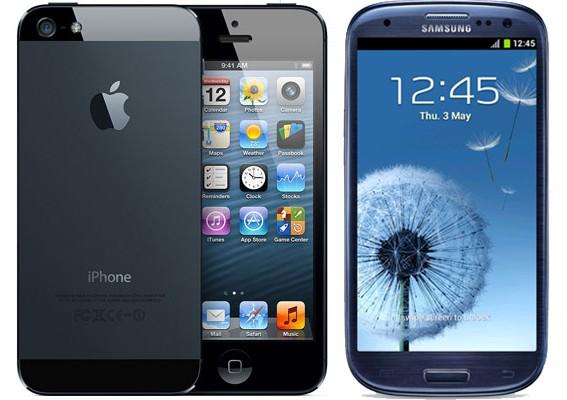 Дроп тест Samsung Galaxy SIII и iPhone 5