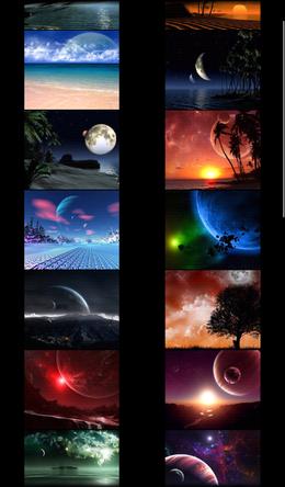 3D Design Wallpaper – космические обои для Android