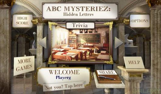 ABC Mysteriez Hidden Letters – в поиске букв для Android