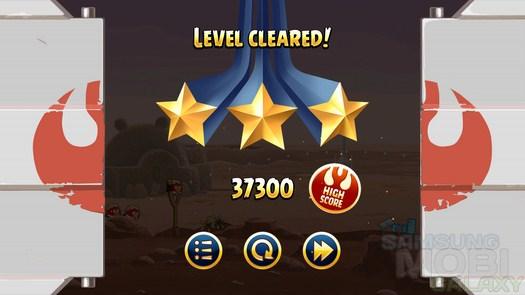 Игра Angry Birds Star Wars для Samsung Galaxy