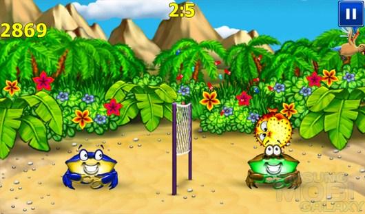 Beach Ball. Crab Mayhem – крабовый волейбол для Android