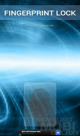 Блокировка отпечатков пальцев – хитрый замок для Android