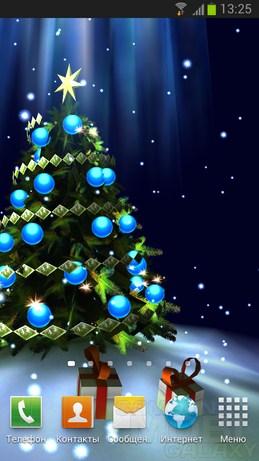 Christmas Tree 3D - классная елочка для Андроид