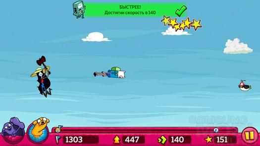 Игра Супер-прыгун Финн для Андроид