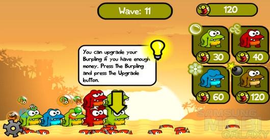 Greedy Burplings – неведомые существа кормильщики для Android