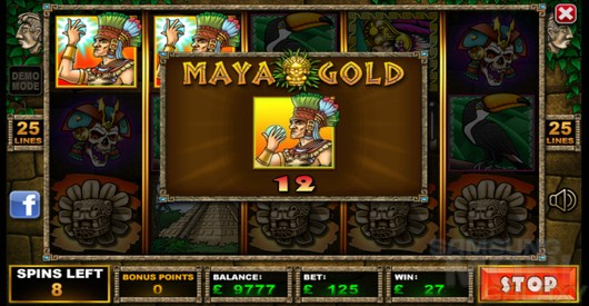 Maya Gold – азарт древних Майя для Android