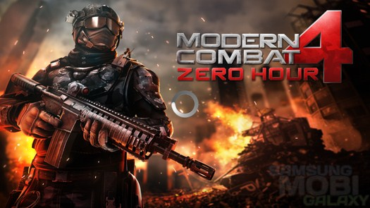 Игра Modern combat 4: Zero Hour для Samsung Galaxy
