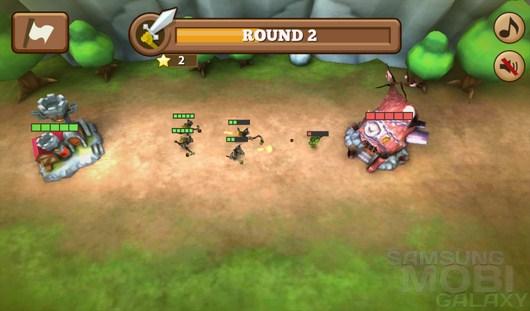 Pets vs Orcs – звери против орков для Android