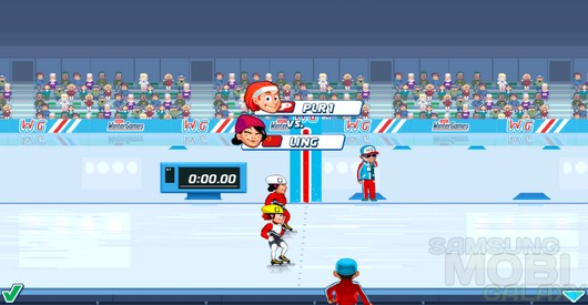 Playman: Winter Games – холодные состязания для Android