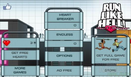 Run Like Hell! Heartbreaker – побег от сумасшедших девушек для Android