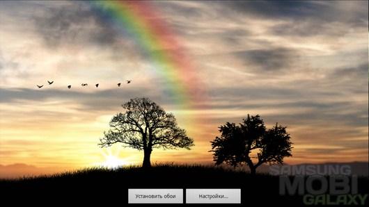 Sun Rise Free Live Wallpaper – шепот природы для Android