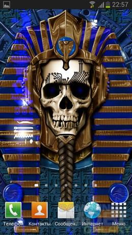 Undead Pharaoh - живые обои для Андроид