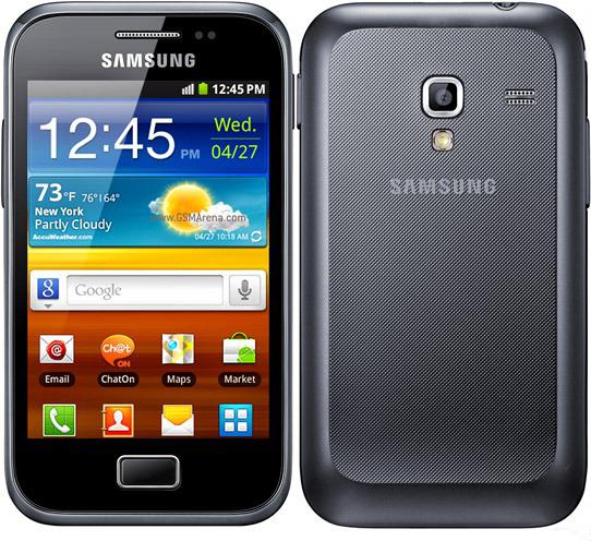Внешний вид смартфона Samsung Galaxy Ace Plus GT-S7500