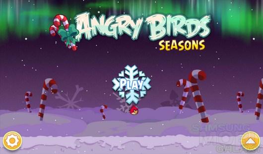 Angry Birds Seasons Winter Wonderham! – новый зимний сезон агрессивных птиц для Android