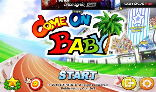 Come on Baby – спортивные карапузы для Android