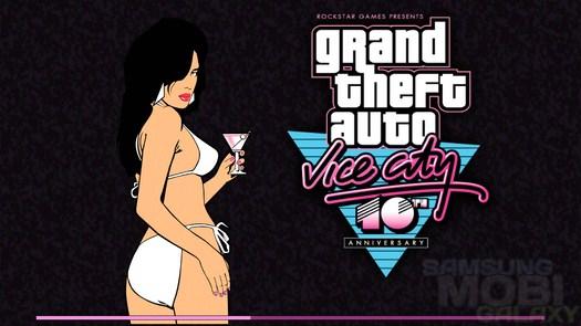 Игра Grand Theft Auto: Vice City для Samsung Galaxy