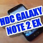 Подделка HDC Galaxy Note 2 EX MT6577 Android